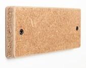 The Key Board in Wheat Board. Simple. Herculean earth magnet key holder.
