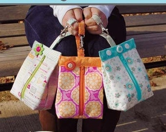 Suzy's Sack paper sewing pattern (not pdf) by This & That - FREE SHIP with fabric purchase