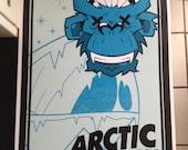 Arctic Monkeys band poster print