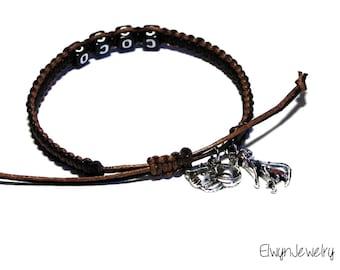 Pet Memorial Bracelet, Cat Bracelet, Personalized Memorial Jewelry, Pet Remembrance Jewelry, Cat Lover Bracelet, Name Bracelet, Cat Jewelry