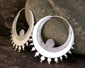 Angel (Large) Silver Earrings