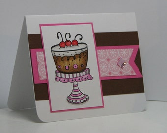 Super Sweet Treat Happy Birthday Greeting Card