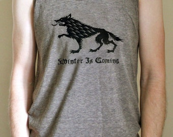 Game of Thrones // Winter Is Coming // House Stark Direwolf Sigil