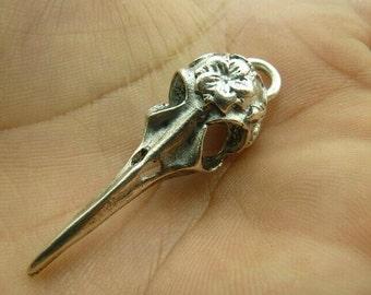 5pcs 14x43mm The Bone Silver Color Retro Pendant Charm For Jewelry /Pendants C4851