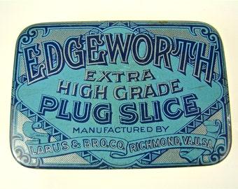 Antique Edgeworth Tobacco Tins