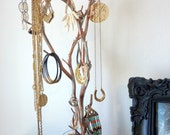 SPRING SALE!!! Copper, Rusted Copper Manzanita Tree for hanging your jewelry!