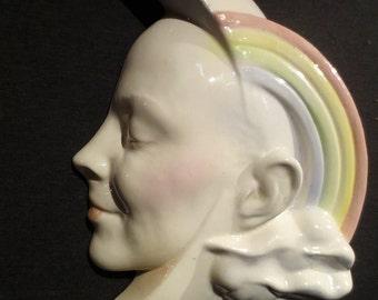 Will Hererra Rainbow Lady of the Moon