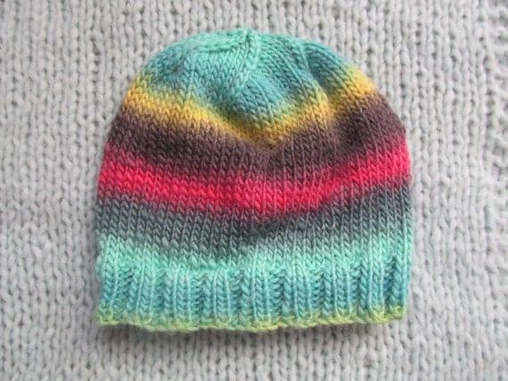 Wool knit hat