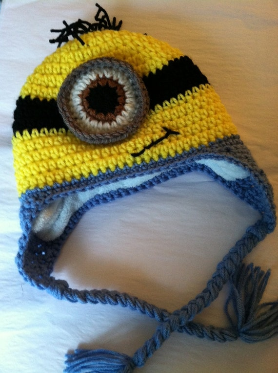 Lakeview cottage kids minion earflap hat free pattern lakeview cottage kids minion earflap hat free pattern dt1010fo