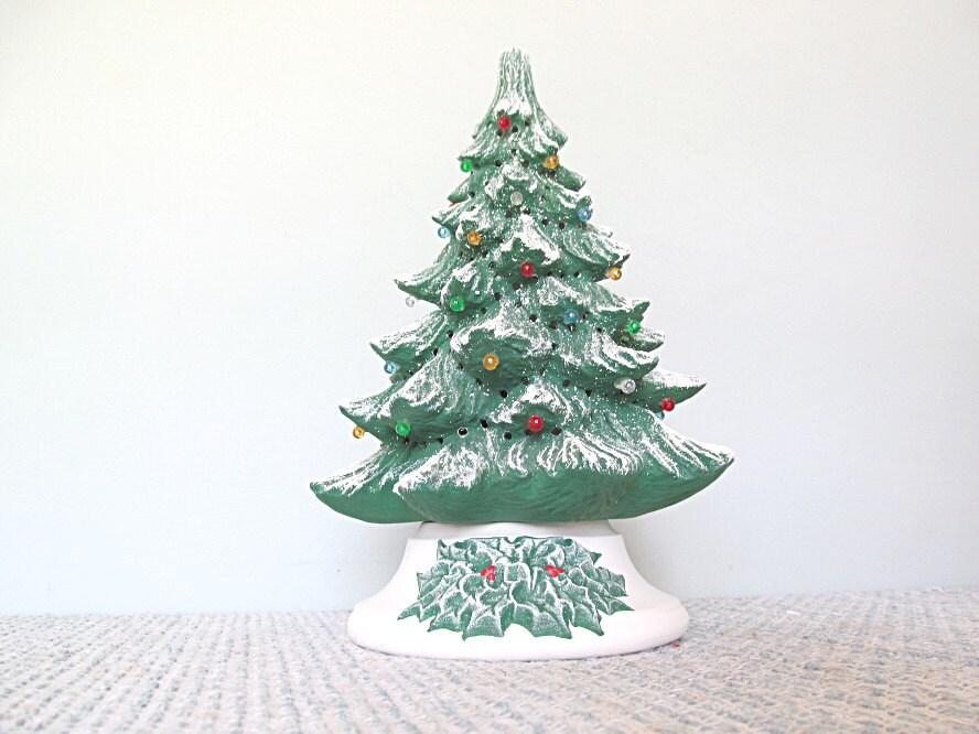 Christmas Tree Christmas Decor 1970s Ceramic Christmas Tree