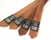 Skinny Wood Tie