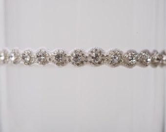 TOSS GARTER rhinestone Wedding Garter bling Bridal Garter crystal Throw Garter