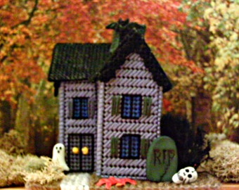 Victorian Halloween Miniature House