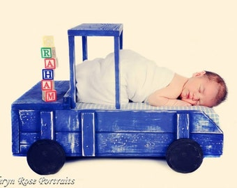 Large Truck Newborn Photography Prop