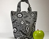Insulated Lunch Bag Insulated Lunch Tote Lunch Tote Lunch Bag Work School lunch Bag Reusable Eco Friendly Lunch Bag Washable Lunch Bag
