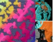 Precious Car-N-Go Poncho - Car Seat Poncho - Custom Double Layer Fleece -  Butterflies