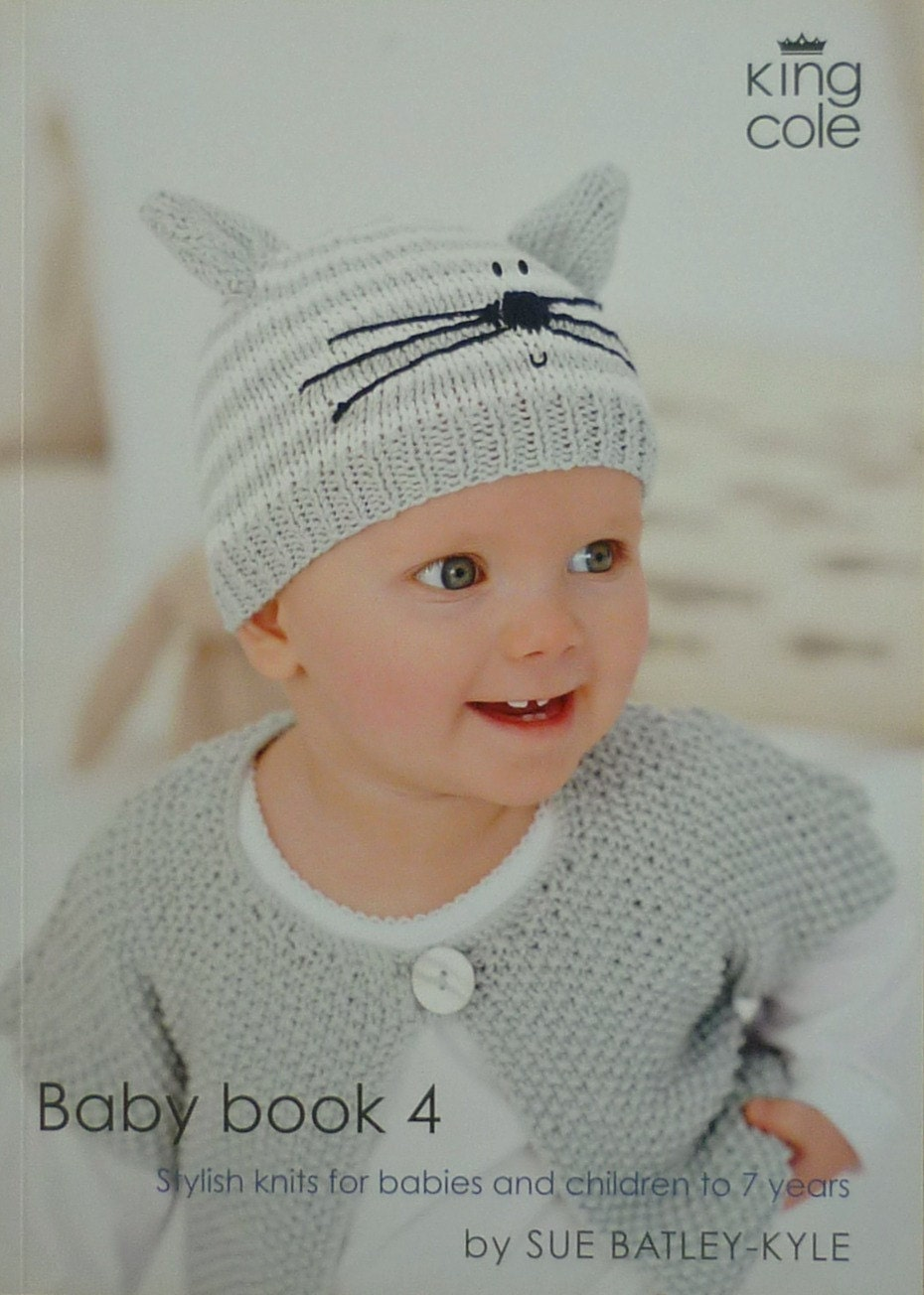 PATTERN BOOK Baby Book 4 Knitting Book Knitting Pattern DK