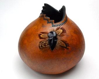Gourd Decorated Southwestern Style