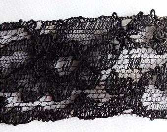Black Lace 3 1/2 yds