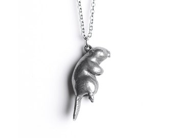 Beaver Necklace, April / May Native American Birth Totem - Taurus