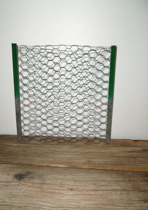 Vintage Wire Wall Basket