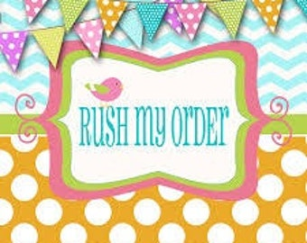 Rush Order for Painted Candles