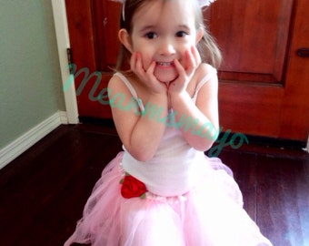 Ballerina Mouse Toddler/ Girls Costume Tutu and Ears