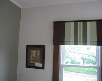 Bedroom ideas roman shades in your own fabric roman - Roman shades for kids room ...