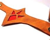 Leather Goron Bracelet - Legend of Zelda Cuff - Men and Women - Zelda Cosplay - Made to Order