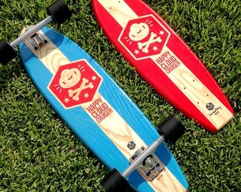 "Longboard: Happy Cloud Cruiser - 26"" / 28"" / 30"" / 33"""