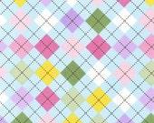 Spring Argyle From Robert Kaufman's Remix Collection