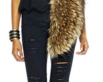Fake Fur Cape by Luv Warrior