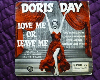 Doris Day 1950s 45rpm EP Single