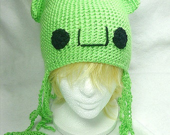 Lime Green Squid Hat