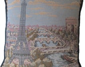 SALE -- Paris Tapestry Pillow