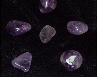 Amethyst Grid (Tumbled), Gemstone Set