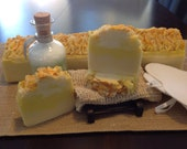 Natural Soap with Organic Demerera Sugar