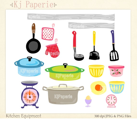 Kitchen Window Clip Art: Items Similar To Cooking Clip Art, Scrapbooking ,kitchen