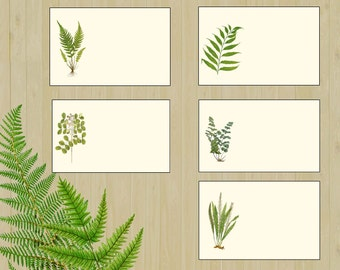 Leaf Placecards, Woodland Wedding Place Cards ,Botanical Place Cards, Garden Wedding Place Cards