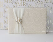 Wedding Guest Book- Custom Made to Order