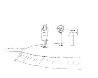 No Point ,Point of Interest cartoon