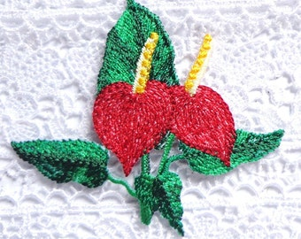 embroidered iron on applique