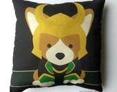 Loki Corgi Pillow (Made to Order)