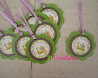 Tinker Bell Favor Tags