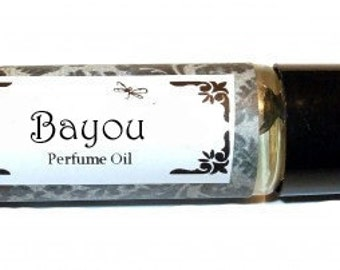 BAYOU - Roll on Premium Perfume Oil - 2 sizes to choose from - 1/3 oz or 1/6 oz -  Bamboo, Jasmine, Wild grasses