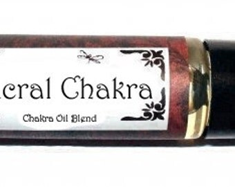 SACRAL CHAKRA - Magical Essential Oil Blend - 1/3 oz  -  All Natural - Aromatherapy - Wiccan