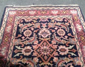 1920 Vintage rug thick wool and a very very long runner