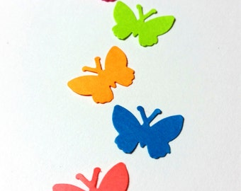"""Butterflies, Tiny ~ 1/2"""" Butterfly Confetti, Party, Wedding, Scrapbook Supply, Flower Girl Toss"""