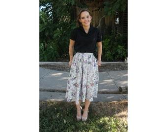 Skirt Vintage Fruit Fabric