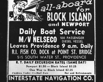 Rhode Island Block Island gelatin silver print